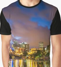 The Yarra at night Graphic T-Shirt