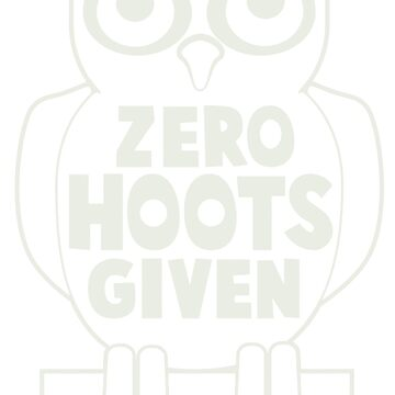 NEW PRODUCT RF443 Zero Hoots Given New Product by Baratroast