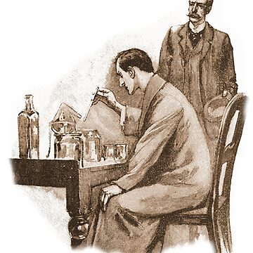 Sherlock Holmes at his chemical table by Sidney Paget by InfernoFilm