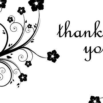 thank you : elegant flowers by memorymoments