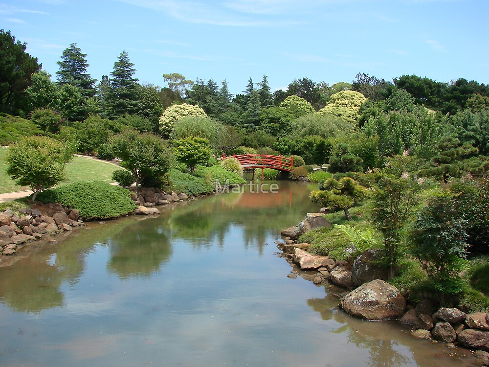 Joyous Japanese Gardens by Martice