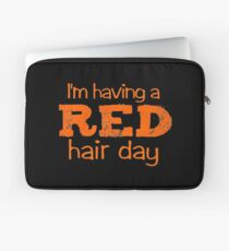 im having a red hair day Laptop Sleeve