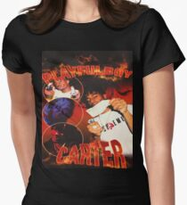 PLAYFULBOY CARTER Women's Fitted T-Shirt