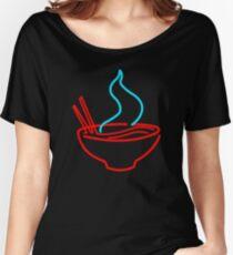 Spicy Ramen Noodles Neon Women's Relaxed Fit T-Shirt