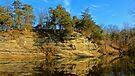 Gar Hole Bluff Line  by NatureGreeting Cards ©ccwri