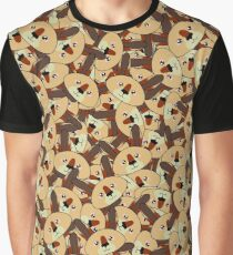 Mini Kangaroos - Australian animal design Graphic T-Shirt