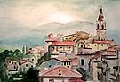 Tuscany Landscape by Jim Phillips