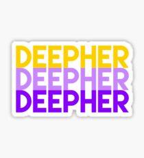 Deepher x3 spirit colors Sticker