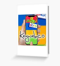 Keywebco eBay Store  Greeting Card