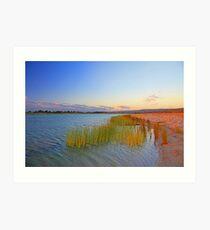 Champion Lake At Sunset  Art Print