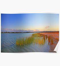 Champion Lake At Sunset  Poster