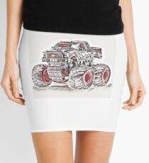 Japan Art Style Truck Mini Skirt