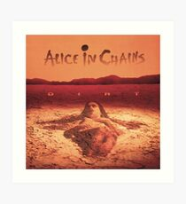 Alice In Chains - Dirt Art Print