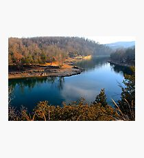 Hog Scalped Beaver lake Photographic Print