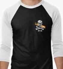 Valykrie Skull Squadron Men's Baseball ¾ T-Shirt