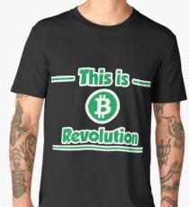 B Revolution - Green Men's Premium T-Shirt