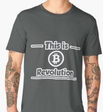 B Revolution - Gray Men's Premium T-Shirt