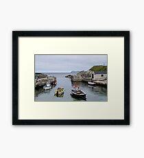 Ballintoy Harbour Framed Print