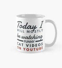 Funny cats on YouTube  Mug