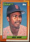 355 - Jose Uribe by Foob's Baseball Cards