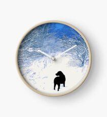 Reloj Tesoros - Labrador negro