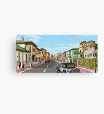 El Paseo de Sancha Canvas Print