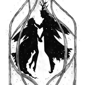 Elf helmet couple by Orbitoclast