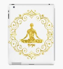 Yoga Golden iPad Case/Skin
