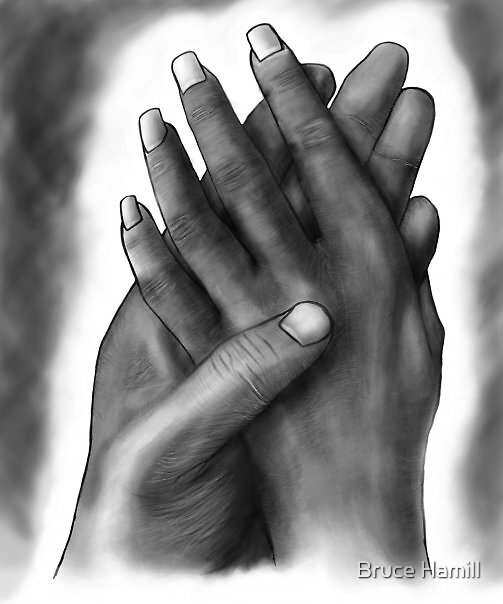 Hands by Bruce Hamill