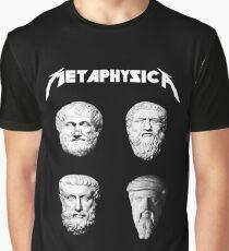 Metaphysica - Fun Metal Philosophy Shirt Graphic T-Shirt