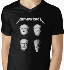 bca99bacd Metaphysica - Fun Metal Philosophy Shirt Men's V-Neck T-Shirt