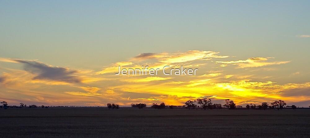 Sunset Ahead by Jennifer Craker