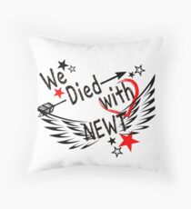 Newt - Maze Runner Design Throw Pillow