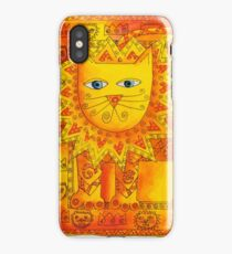 Patterned Lion iPhone Case