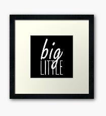 Big Little Framed Print