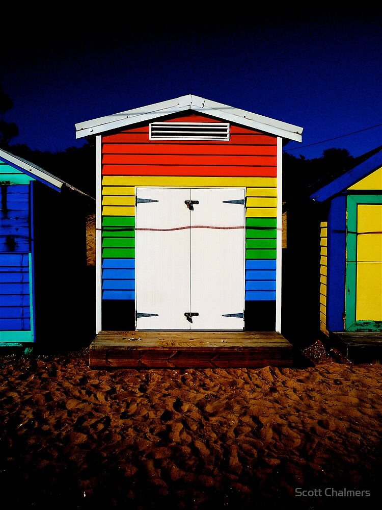 Brighton Beach Box by Scott Chalmers