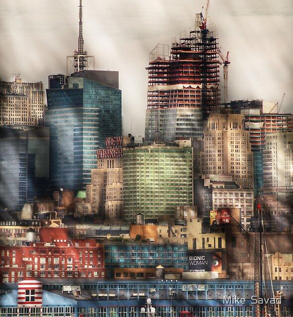 New York Sky Scrapers by Michael Savad