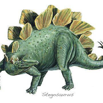 Stegosaurus by lewisroland