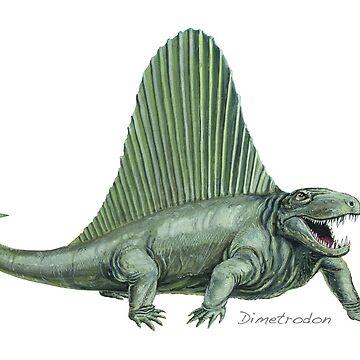 Dimetrodon by lewisroland