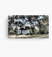 Which Motel? Canvas Print