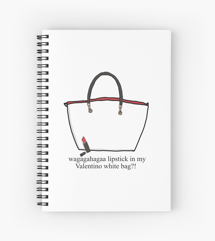 663bbd53ff82 Lipstick in my Valentino white bag !