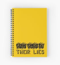 Paramore: Scribble Out the Truth with Their Lies - BLK Spiral Notebook