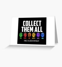 Collect them all! Greeting Card