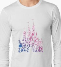 Character Castle Inspired Silhouette Long Sleeve T-Shirt
