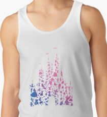 Character Castle Inspired Silhouette Men's Tank Top