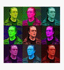 Walken Collage Photographic Print