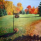 Autumn in Canada by Carole Russell