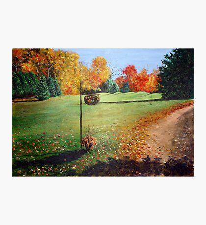 Autumn in Canada Photographic Print