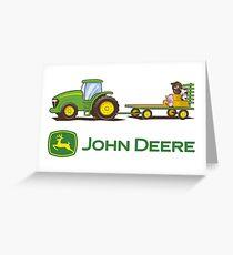 Jhon Deere Merchandise Greeting Card