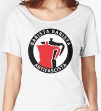 Barista Barista Antifascista Women's Relaxed Fit T-Shirt